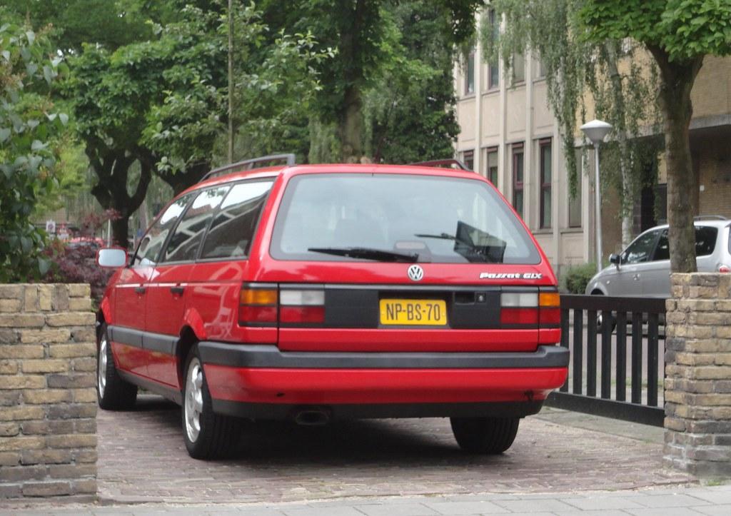 Vw Passat B3 Variant 2 8 Vr6 Glx Us Spec 14 10 1994 Np Bs