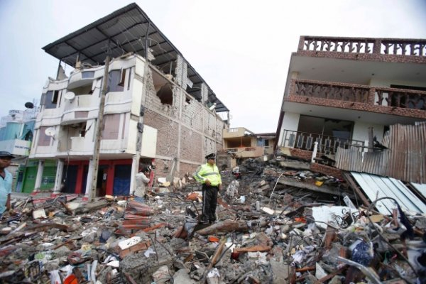 Trận Động Đất Và Gia Đình Đaminh Ở Ecuador