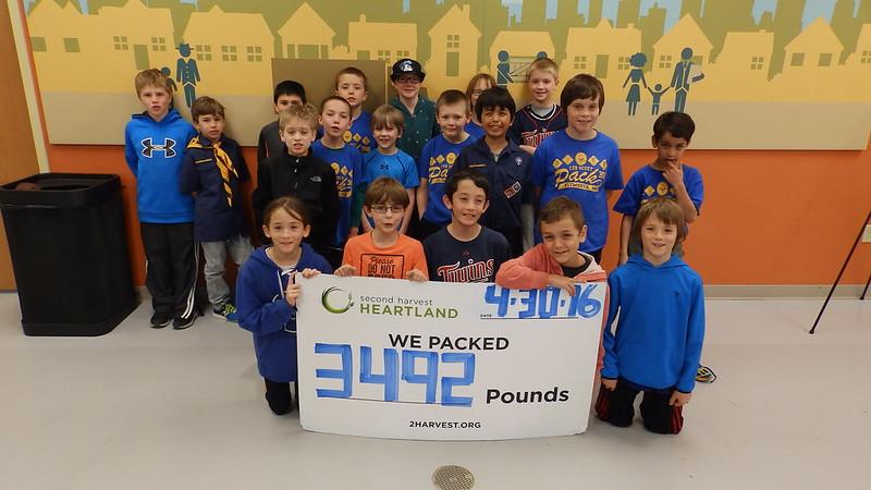 Cub Scout Pack 388-1  4-30-16