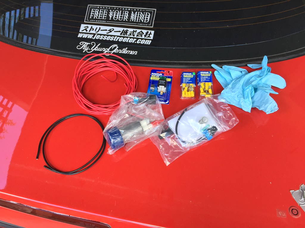 DIY: Fuel pump upgrade and hard wire   oh it's andy