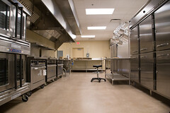 Camp Aldrich Dining Center Kitchen