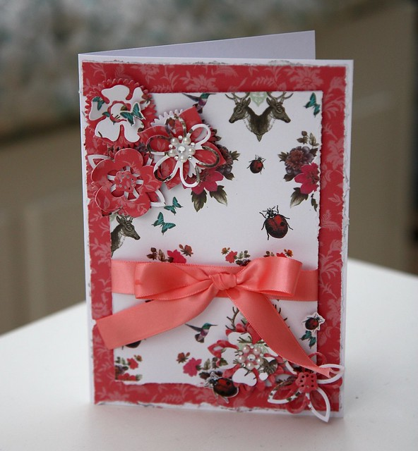 Gypsy Gypsy Ribbons and Pearls Card by StickerKitten