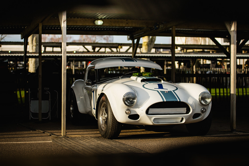 Erica Austin And Rob Hall 1962 Ac Cobra At The Goodwood Flickr