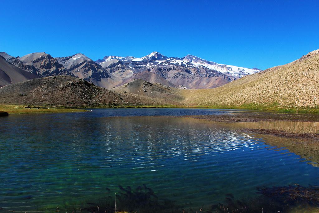 Laguna Los Patos, Cajón del Maipo. Chile