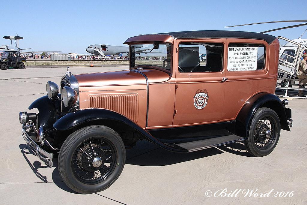 Ford model a 1931 2 door sedan arizona highway patrol a for 1931 ford 2 door sedan
