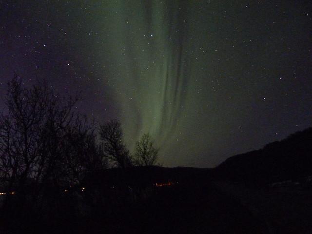 Auroras boreales fotografiadas en Laponia Noruega