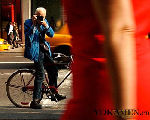New York street photography of Bill Cunningham
