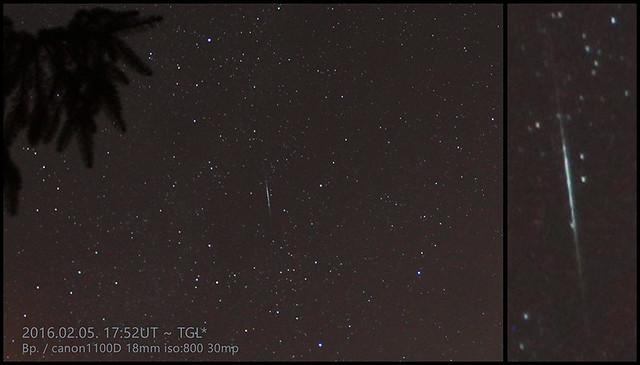 VCSE - Tegnap esti meteor - TGL