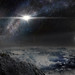 An artist's impression of the record-breaking superluminous supernova ASASSN-15lh as it would appear from an exoplanet located about 10,000 light years away in the host galaxy of the supernova. (Credit: Beijing Planetarium / Jin Ma)