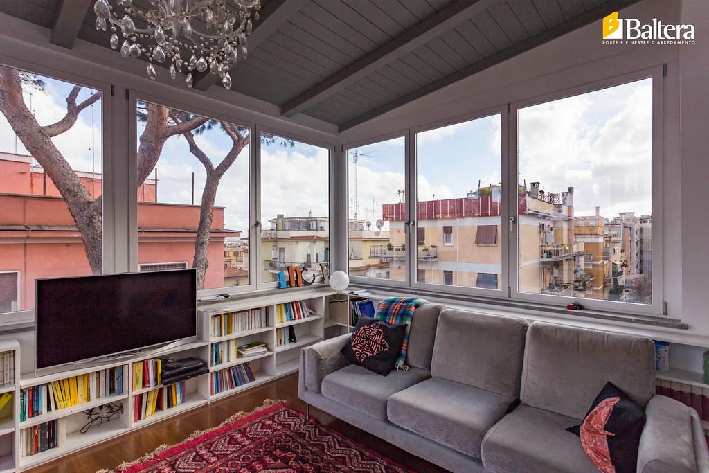 Veranda salone vista laterale baltera porte e finestre flickr - Baltera srl unipersonale porte e finestre ...