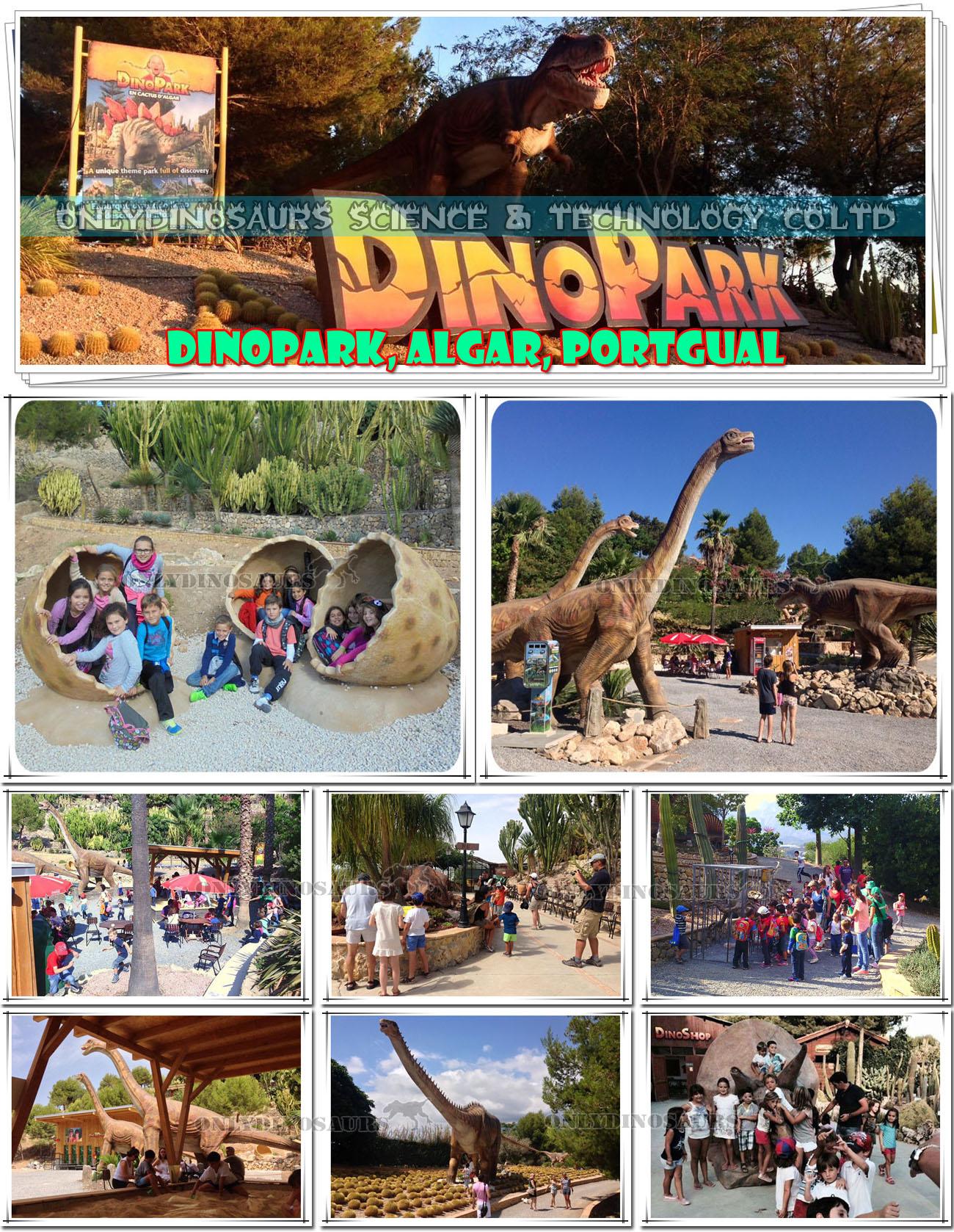 Dinosaur Park in Portgual