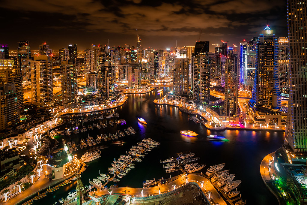 Dubai Marina Dubai Marina Is An Artificial Canal City