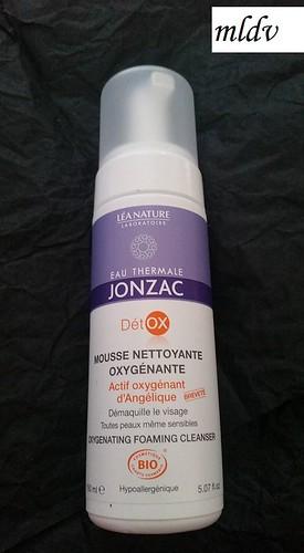 Mousse nettoyante oxygénante eau thermale jonzac
