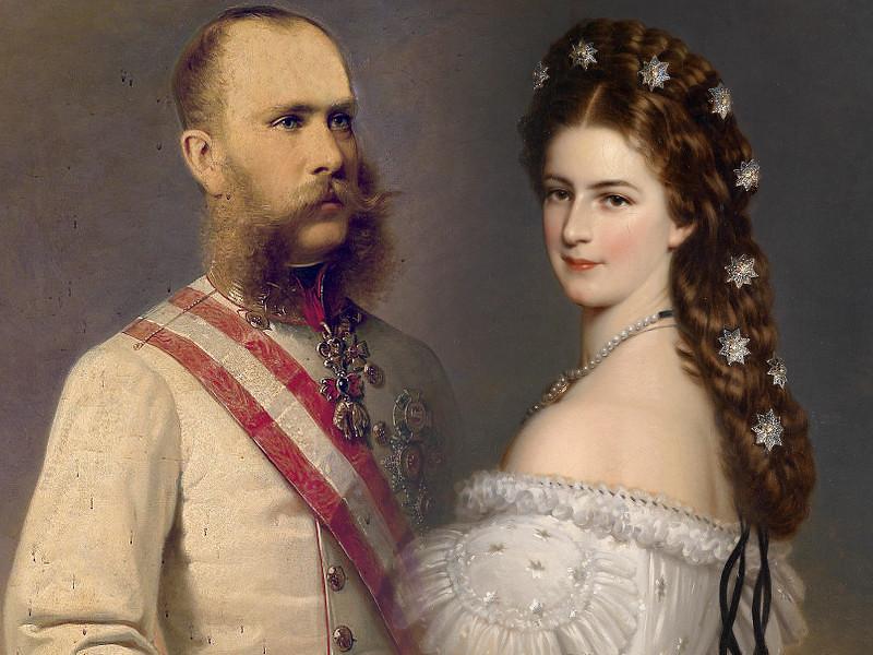 Emperor Franz Joseph I and Empress Elisabeth
