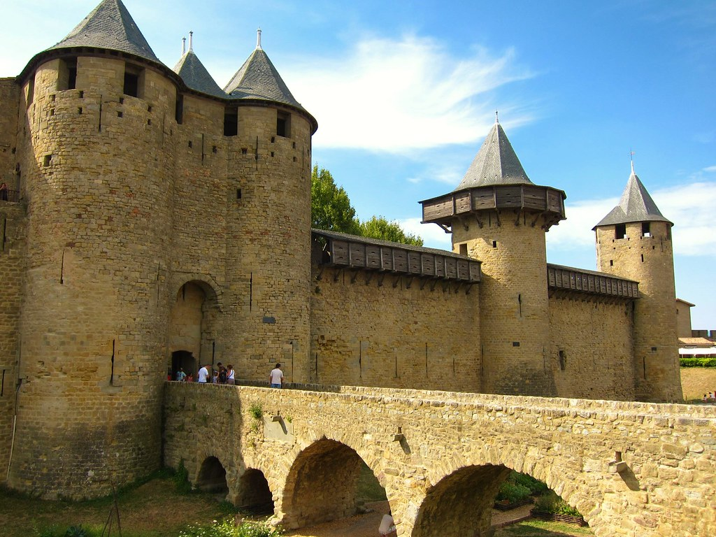 Carcassonne bridge. Photo App1990