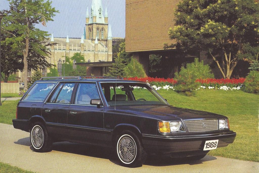 1988 Plymouth Reliant K America |Plymouth Reliant White