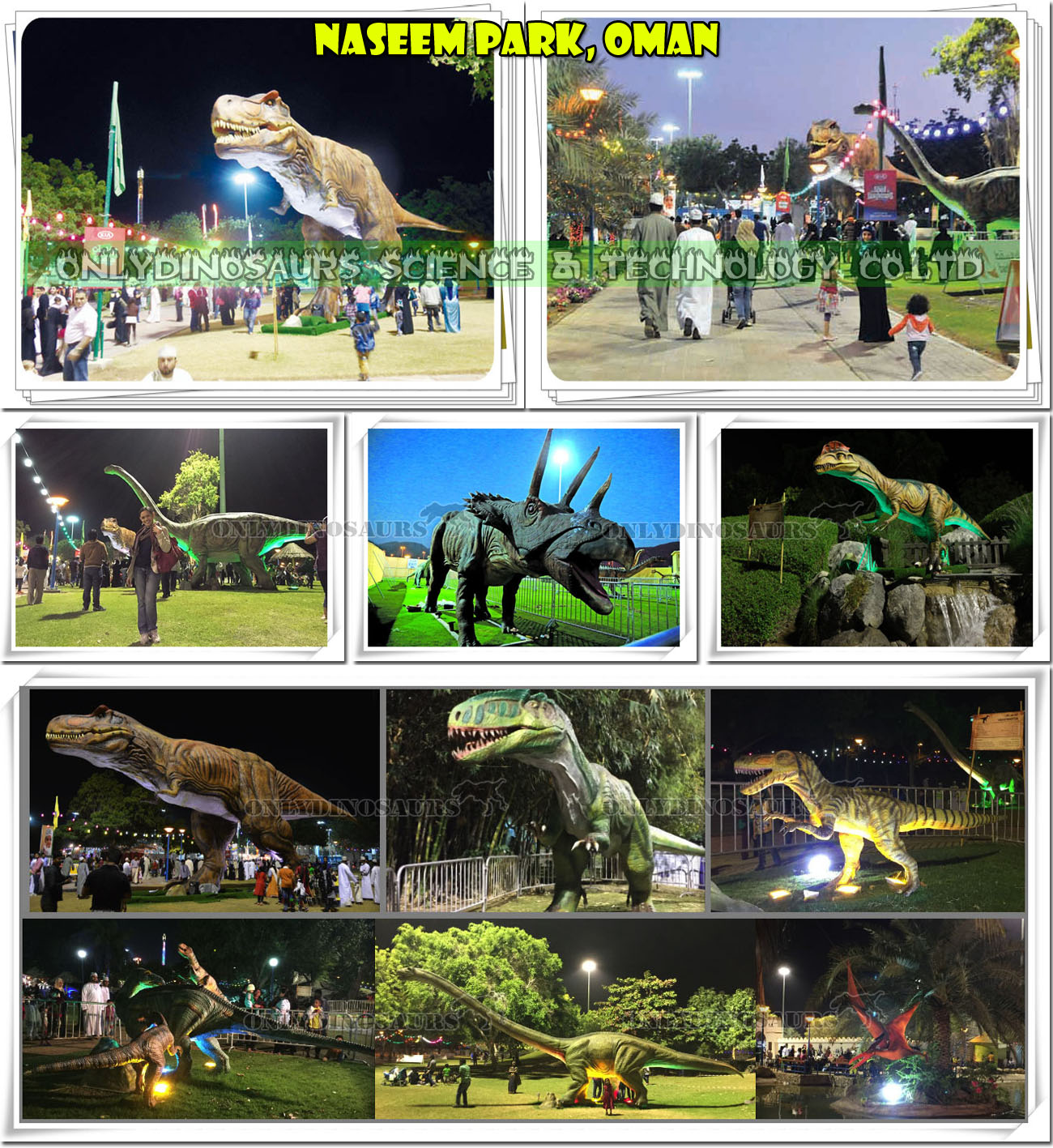 Dinosaur Exhibition at Naseem Park