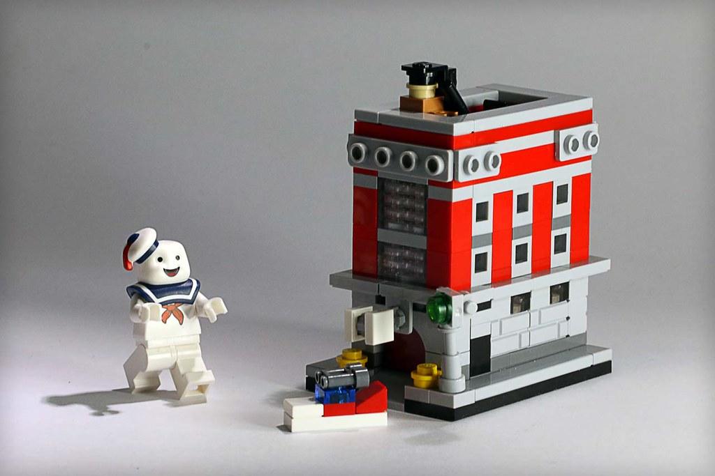 Mini Ghostbusters HQ - Frostbricks