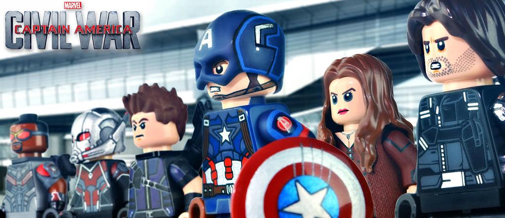 Lego Captain America Civil War United We Stand Flickr