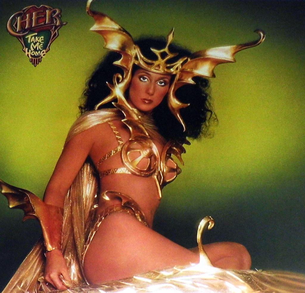 Vintage Vinyl Lp Record Album Cher Take Me Home Casabl