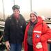 Lead Driller Jay Johnson and NSF Antarctic Glaciology Program Director Dr. Julie Palais