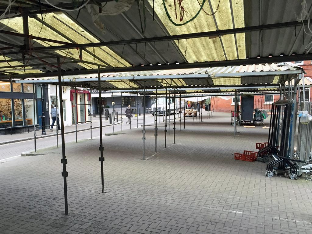 Leather Lane Market Food Stalls