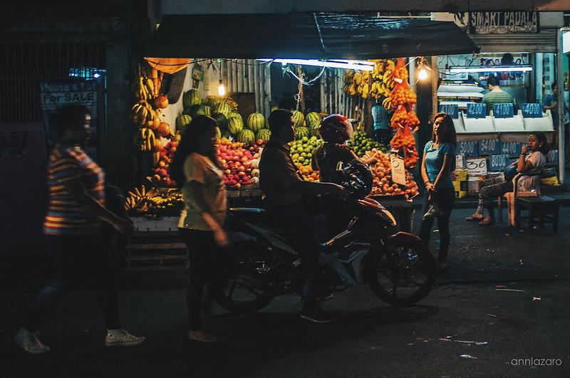 Lakbay Xiomai | Kalye X Manila - January 2016, Fruit stand