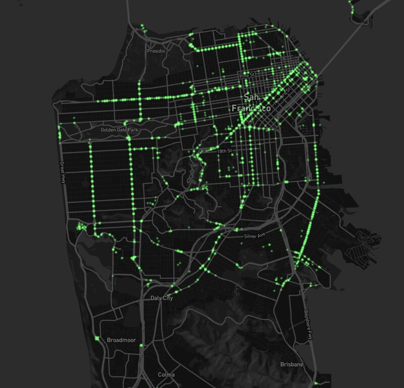 Turn restrictions in SF area