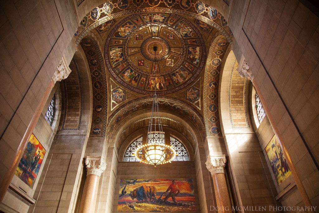 Nebraska Capitol Interior Lincoln Nebraska While