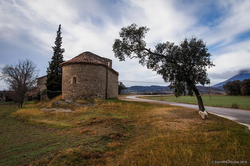 El ábside de Santa Maria d'Avià