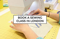 Book a sewing class in London