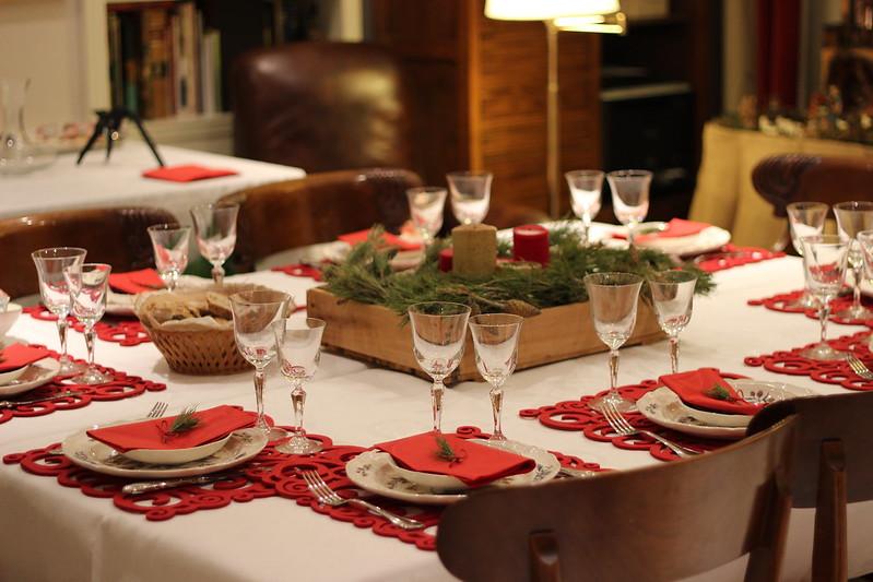 Decoracion mesa navide a 2016 - Como decorar la mesa de navidad ...