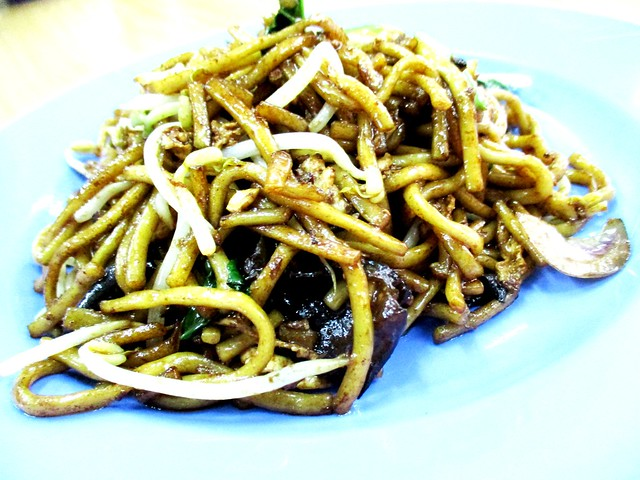 Leong Leong fried noodles, dry