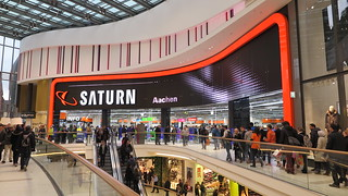 Saturn winkel in Aquis Plaza