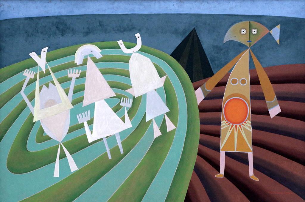 Pintura: Victor Brauner 1903-1966