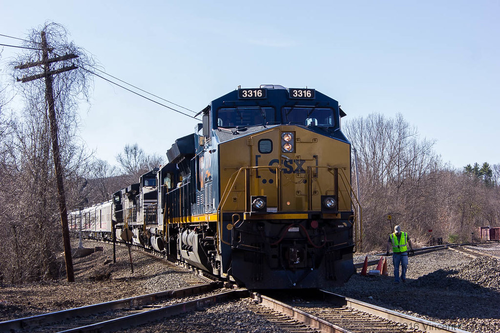 Csx P924 18 Circus Train Vincent Colombo Flickr