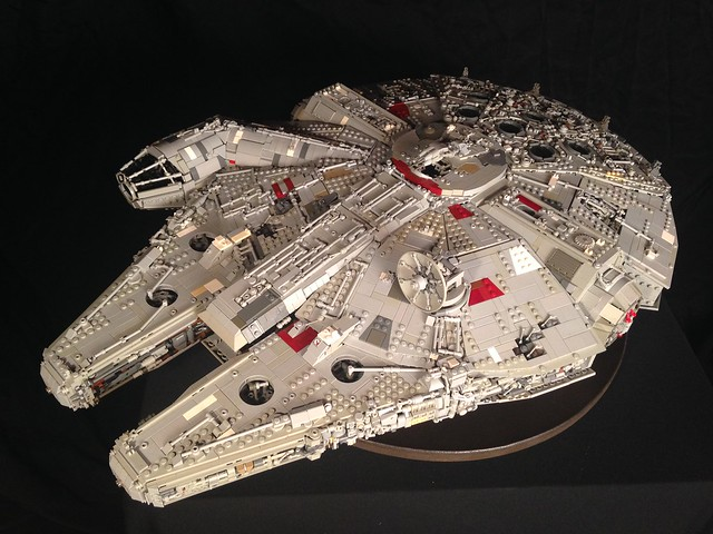 Episode V Custom Millennium Falcon, by Hobo Fett, on Eurobricks