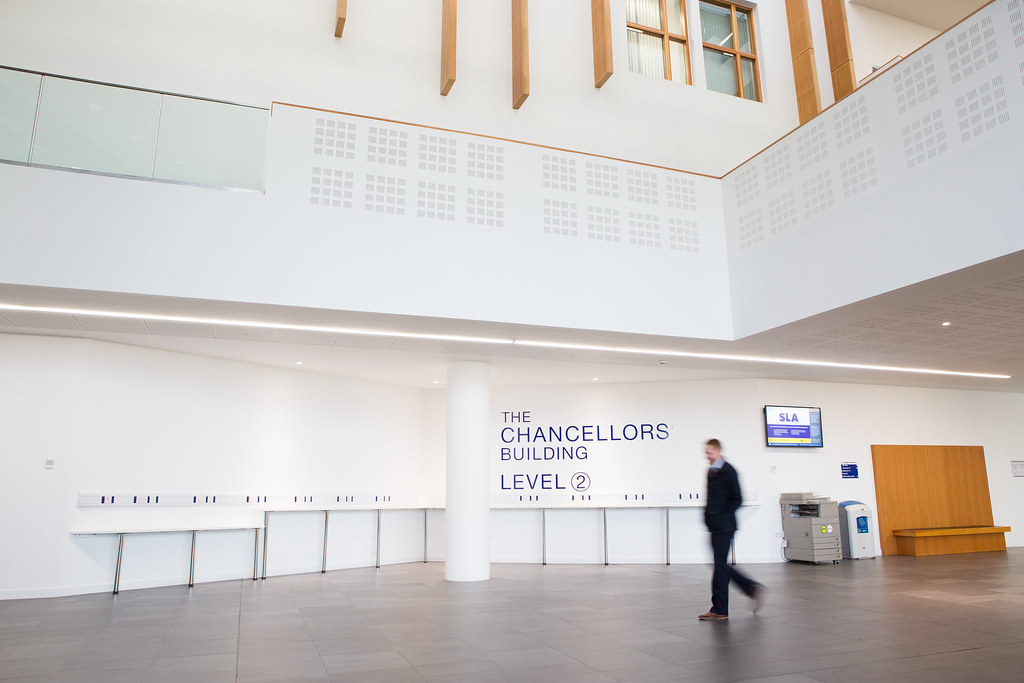 The Chancellors' Building level two foyer