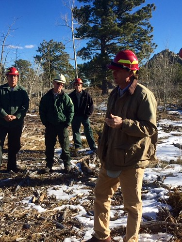 Under Secretary Robert Bonnie visited the Medicine Bow-Routt National Forest in Wyoming