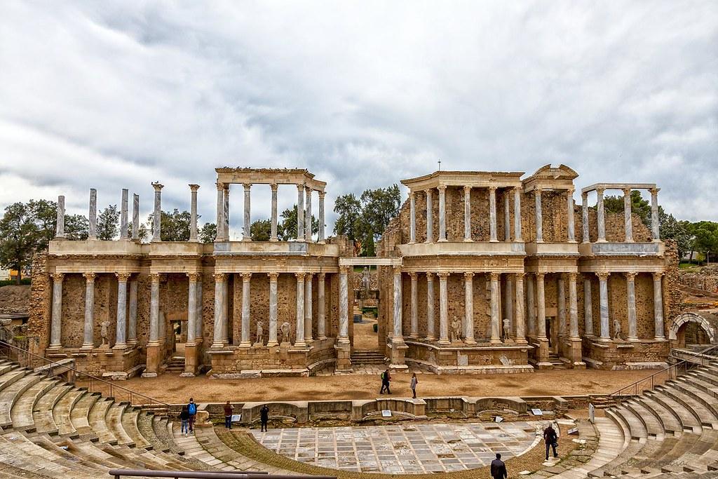 Teatro-romano-de-Mérida
