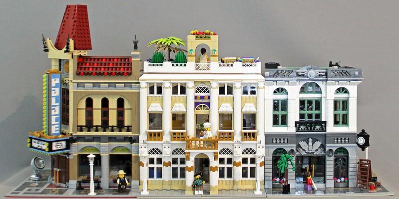MOC] Grand Hotel Ocean View - LEGO Town - Eurobricks Forums