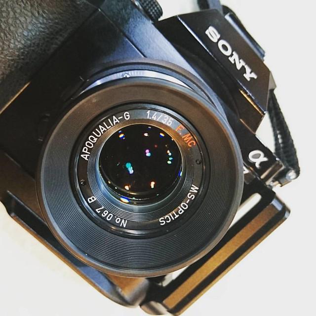 宮崎光學 35mm f1.4 APO 數碼試鏡