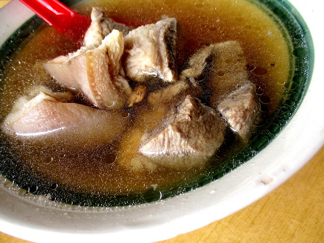 Char bee lau pork leg
