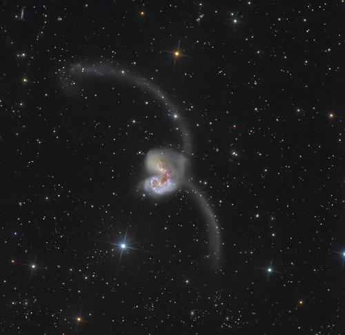 VCSE - Az Antenna-galaxis - Andrey Oreshko/Dietmar Hager
