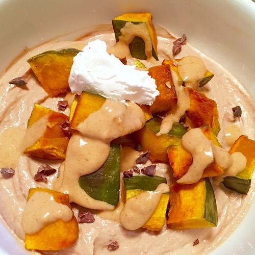 Greek yogurt dessert bowl