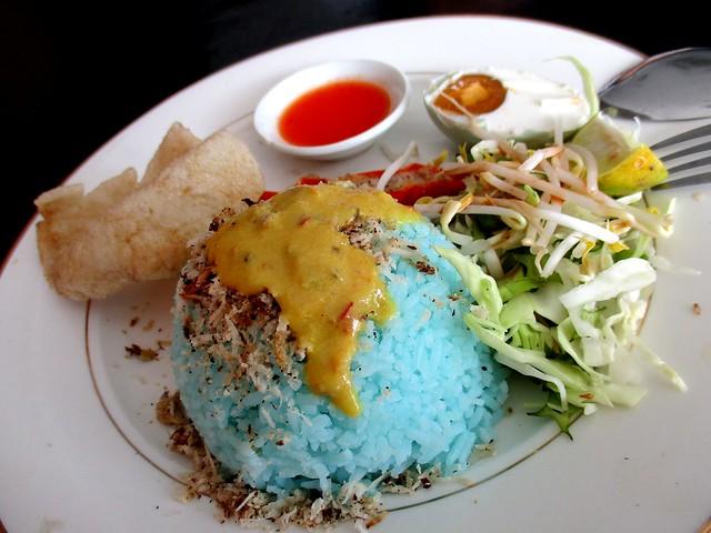 Nasi kerabu Keripan Cafe