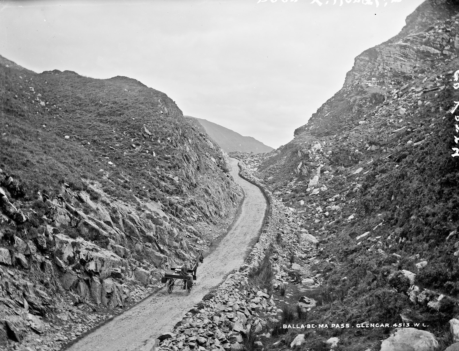 Ballaghbema Pass, Glencar, Co. Kerry | by National Library of Ireland on The Commons