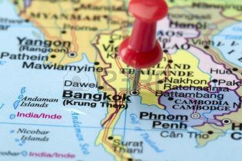 ¿Dónde está Bangkok? ¡Aquí!