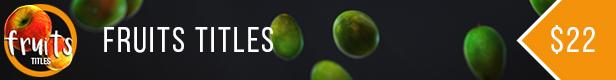 Fruits Titles