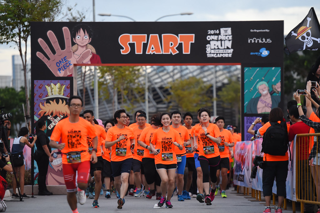 [Photos] First Ever ONE Piece Run in Southeast Asia took place at Kallang in Singapore - Alvinology